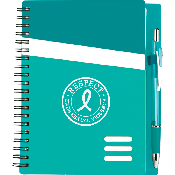 Channel Notebook Teal Set