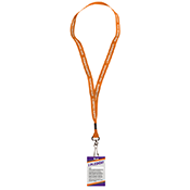 Lanyard with Pledge Card- Dating Violence